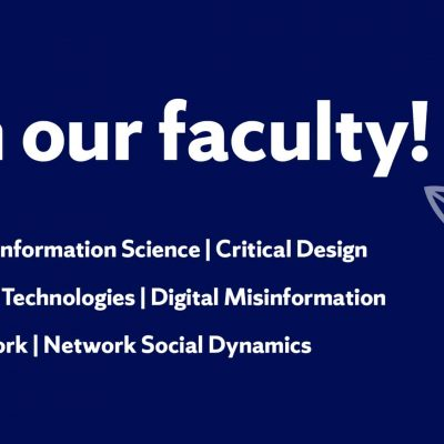 Join our Faculty