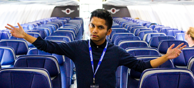 iSchool Student Jezrel Sababaduquia will spend his summer interning with Southwest Airlines.