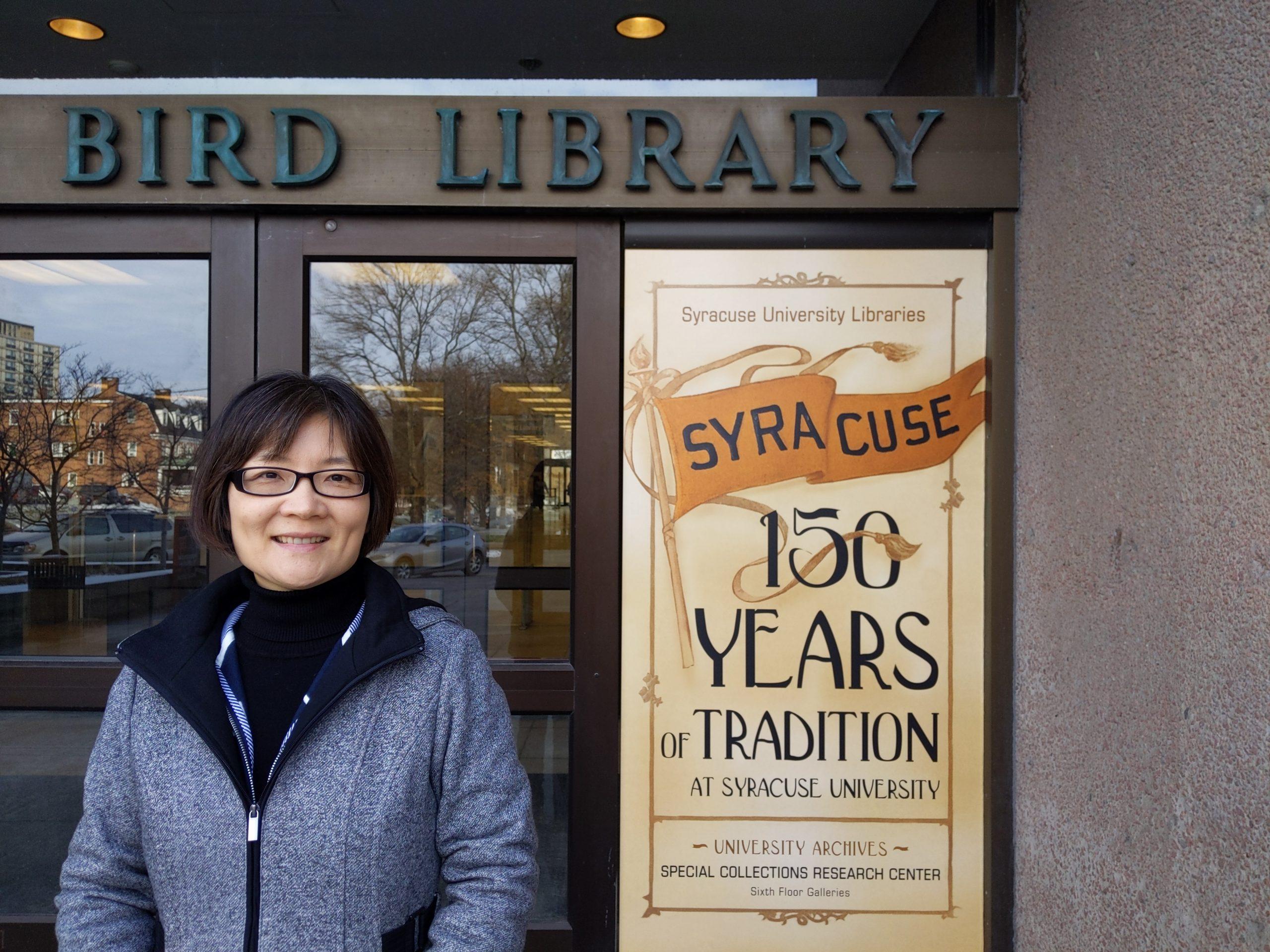 Bei Yu at Bird Library