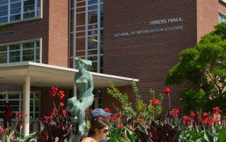 Hinds Hall in the Summer