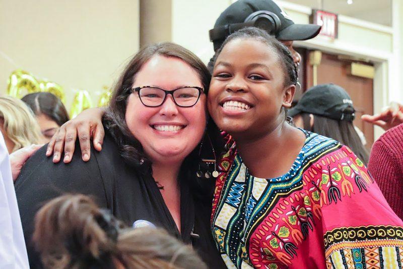 Michelle Osiyah and Jennifer Matthews